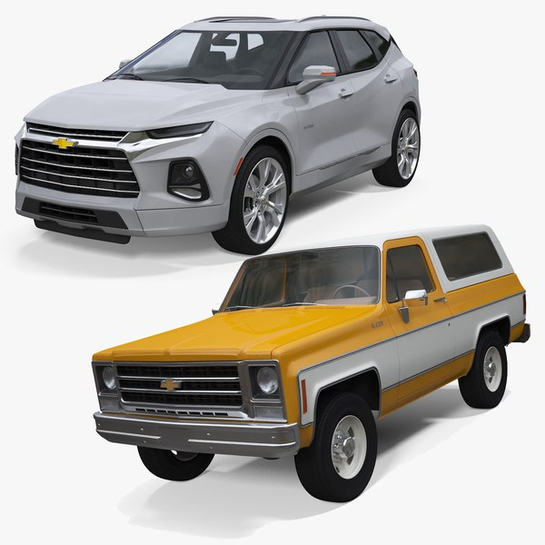 3D chevrolet blazer 1979 2019