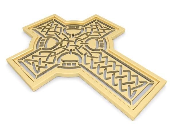 3D celtic knot model