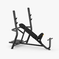 gym weight 3D