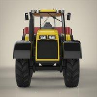 3D tractor materials model