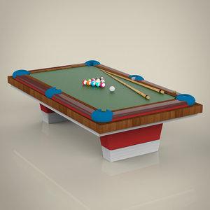 billiard 3D