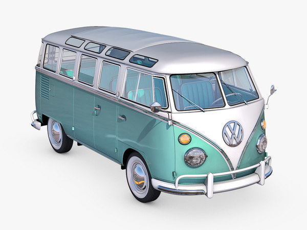 3D model volkswagen type 2