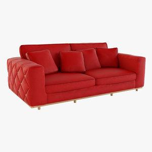 3D apollo sofa