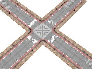 3D modular road