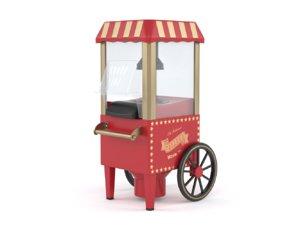 home popcorn maker machine 3D