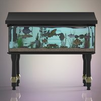 fish aquarium model