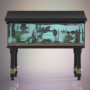 fish aquarium model