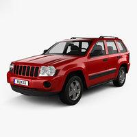 jeep grand cherokee 3D model