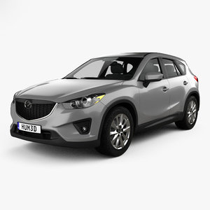 mazda cx-5 us-spec 3D model