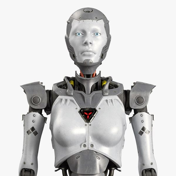 robot rig w 3D model