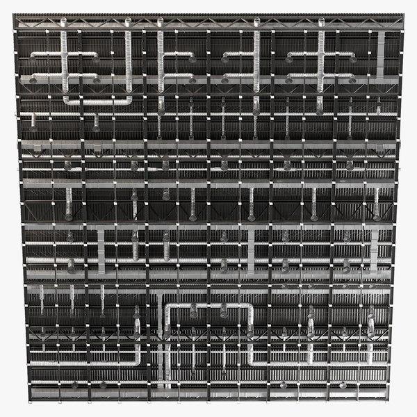 3D ceiling ventilation 35