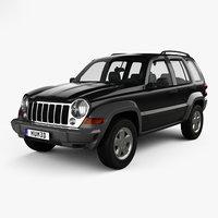 3D model jeep liberty kj