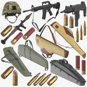 3D weapons munitions