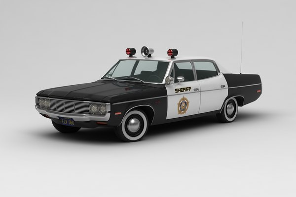 amc matador sheriff 3D model