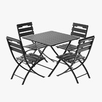 Chair and Table Outdoor Set