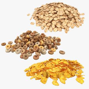 cereal oatmeal scanline model