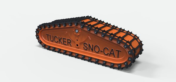 sno-cat cat track 3D
