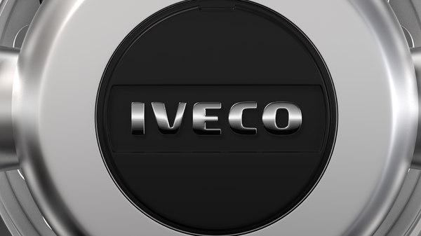 3D model iveco daily minibus wheel