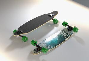3D skateboard