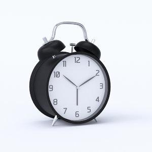 alarm clock modeled 3D model