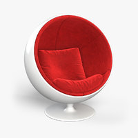 3D ball chair