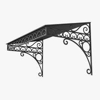 3D iron canopy