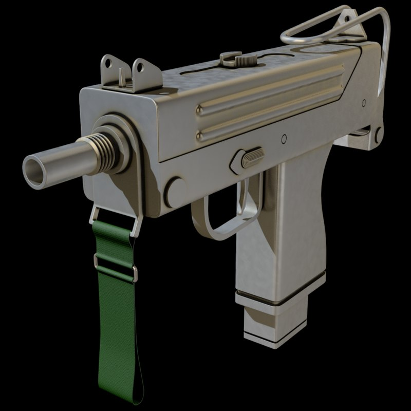 submachine gun model