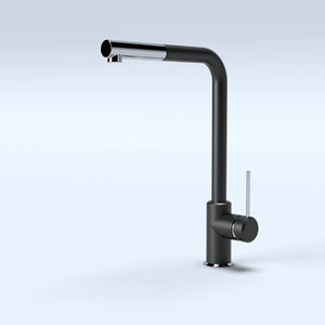 kitchen tap franke modeled model