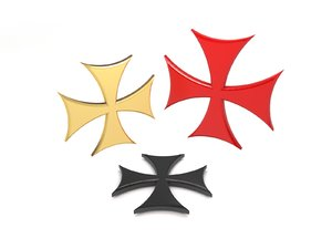 3D cross templars