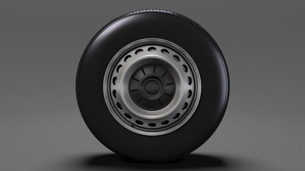 man tge chassi wheel 3D