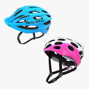 3D model bicycle helmets