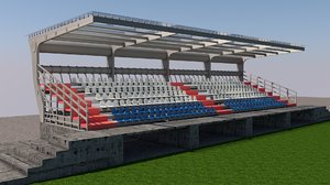 3D seats platform