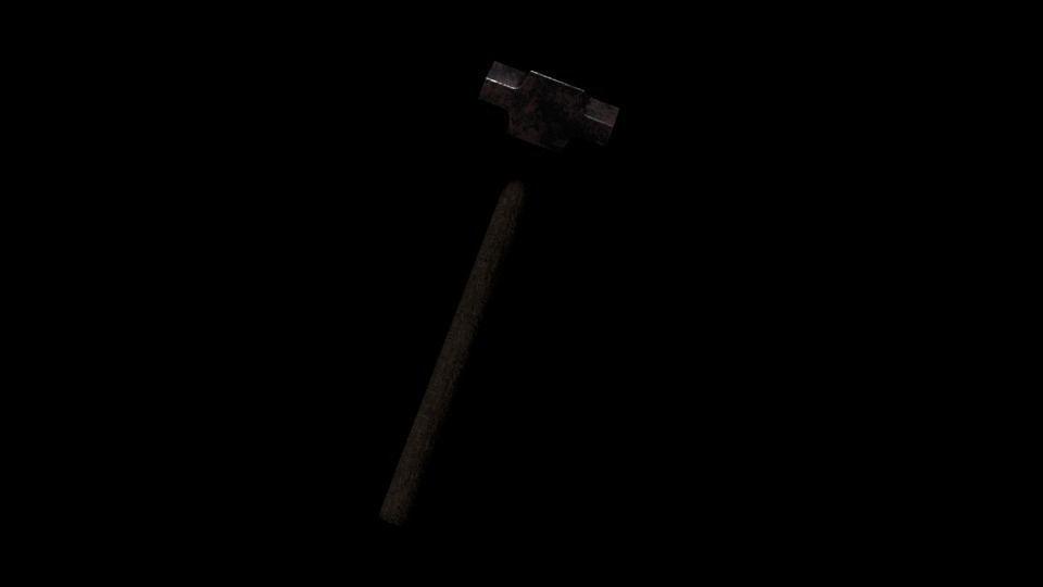 3D sledge hammer