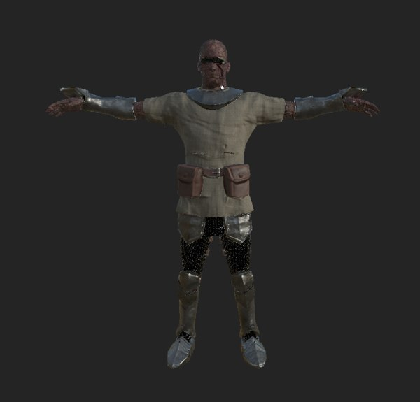 3D humanoid unity knights