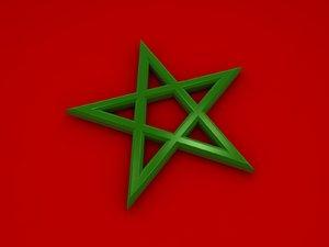 pentagram 3D model