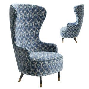 home armchair v002 3D
