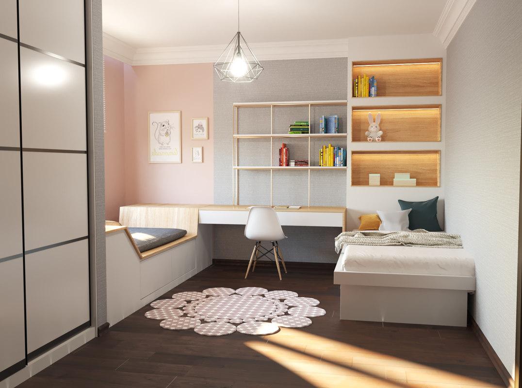 children bedroom 01 3D