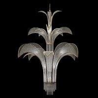 BAGUES PARIS ART DECO CHANDELIER 18085