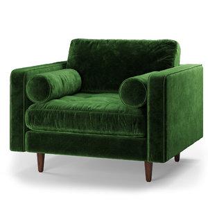 article sven chair 3D model
