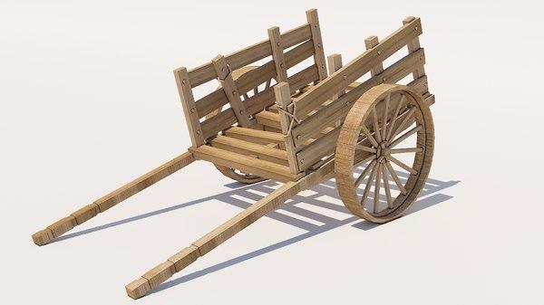 3D cart wood