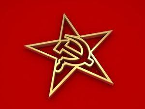 communism symbol model