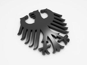 eagle german 3D model