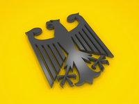 3D model eagle german