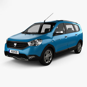 3D dacia lodgy stepway