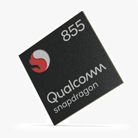 Photorealistic Mobile Chip - Snapdragon 855