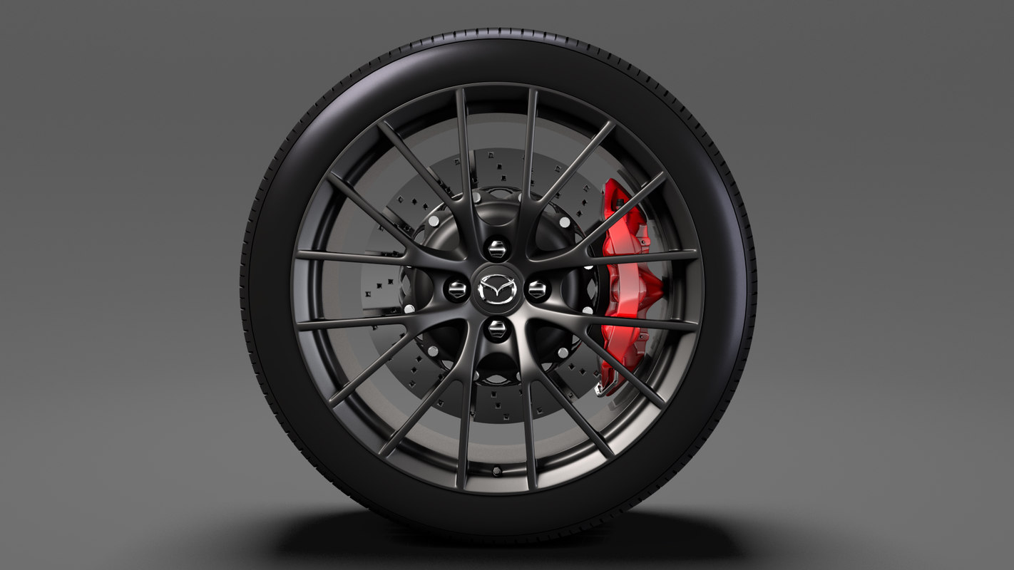 mazda roadster rs wheel model