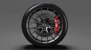 mazda roadster rs wheel model