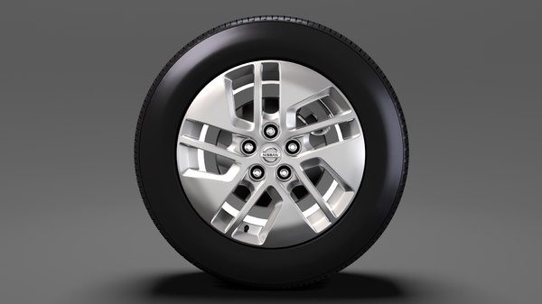 3D nissan nv combi wheel