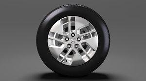 3D nissan nv combi wheel