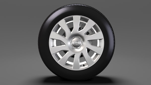3D nissan nv300 van wheel